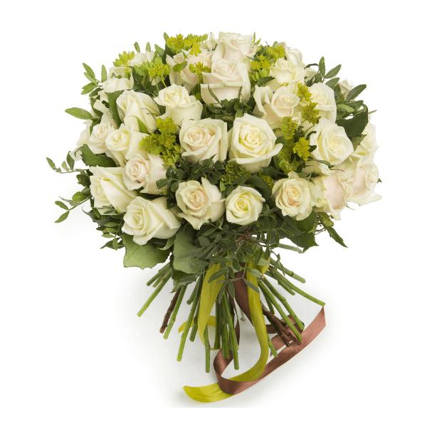 ורדים לבנים