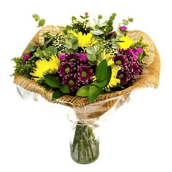זר פרחים חרציות